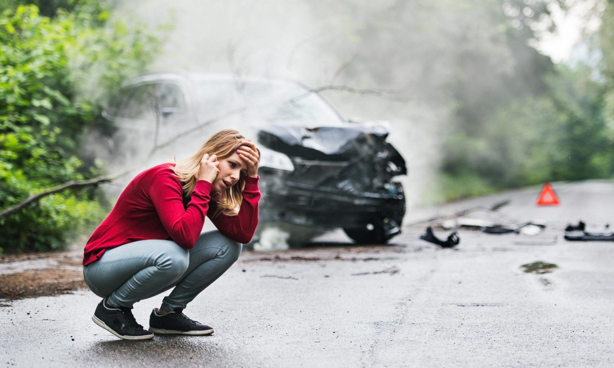 Consecuencias de un accidente automovilístico